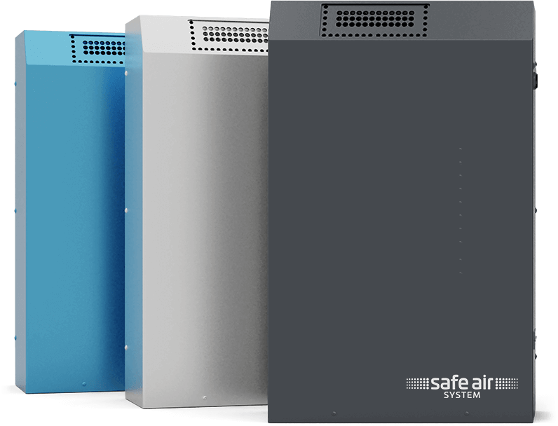 Safe Air Geräte Edelstahl